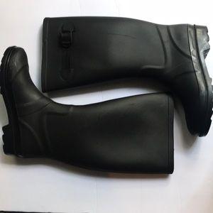 Marc Jacobs black rain boots